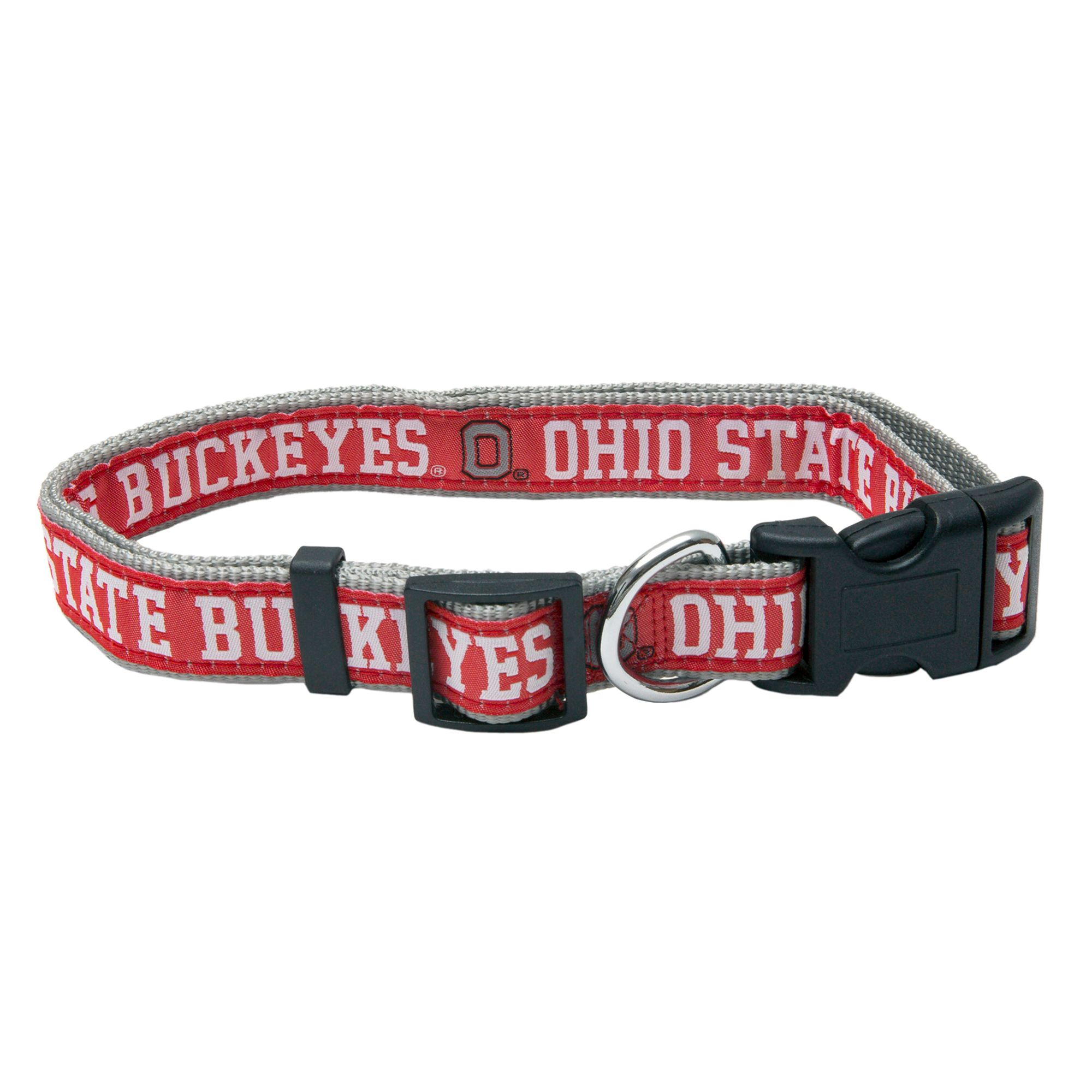 Ohio State University Buckeyes Ncaa Collar size: Small, Red, Pets First 5217732