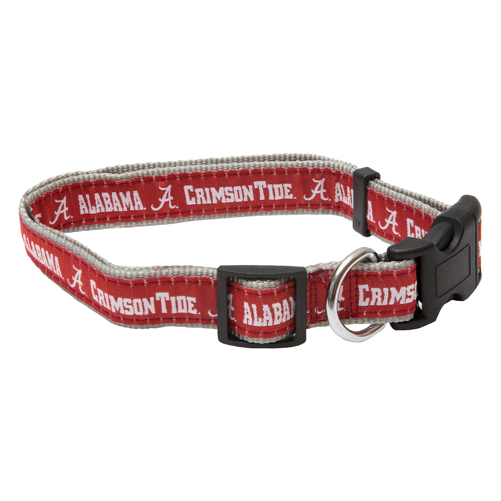 University of Alabama Crimson Tide Collar size: Small, Red, Pets First 5217823