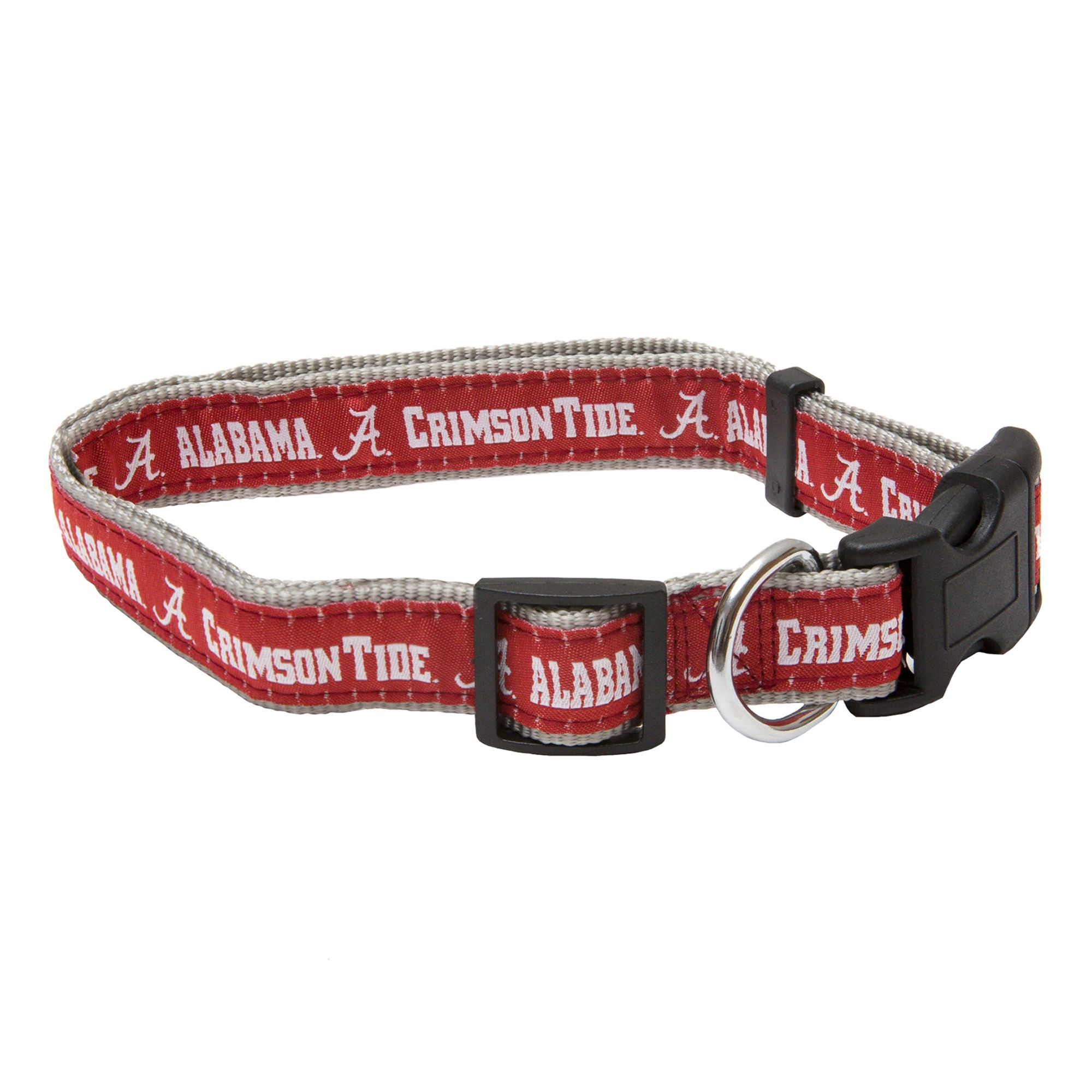 University of Alabama Crimson Tide Collar size: Large, Red, Pets First 5217835