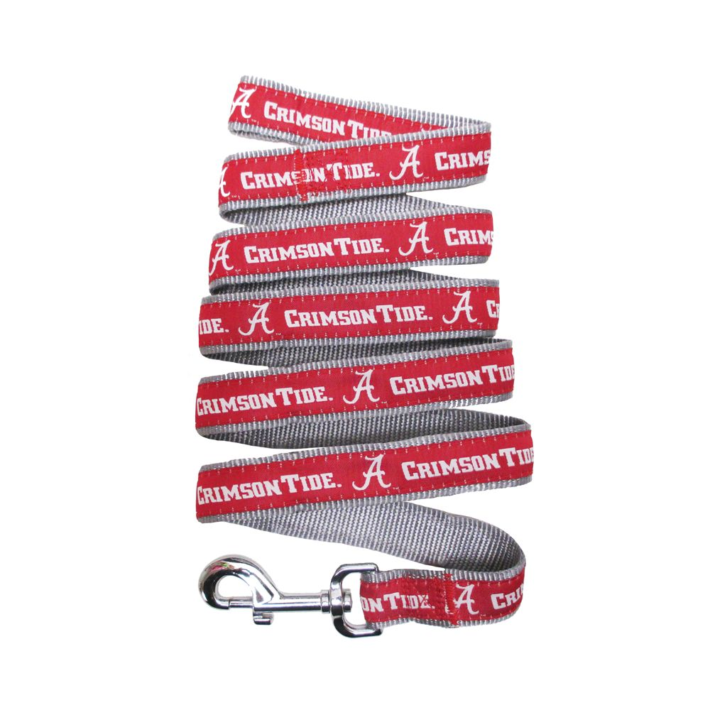 University of Alabama Crimson Tide Leash size: Small, Red 5217836