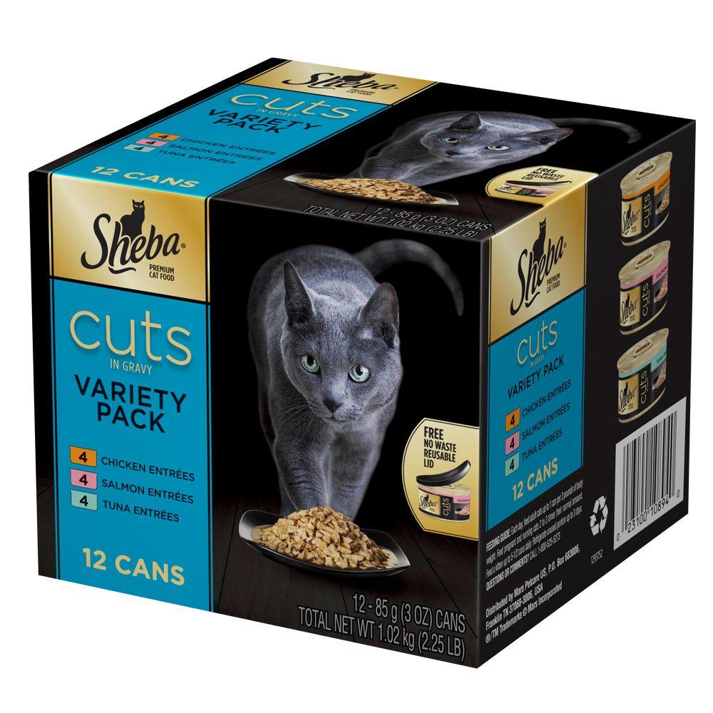 Sheba® Cuts Variety Pack Cat Food 5219527