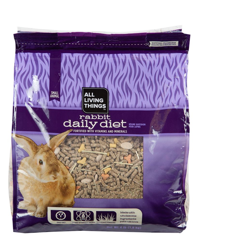 All Living Things® Rabbit Food size: 4 Lb 5219553
