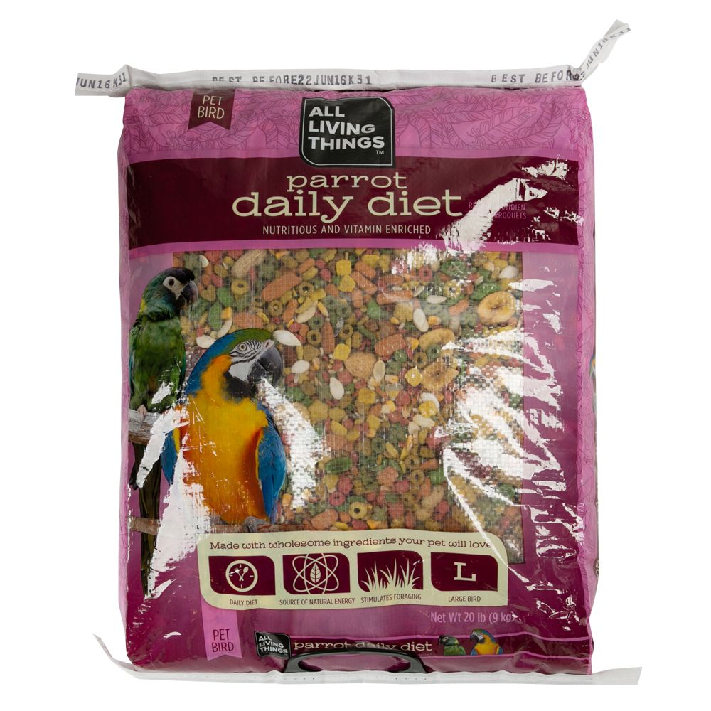 All Living Things Parrot Daily Diet size: 20 Lb 5219667