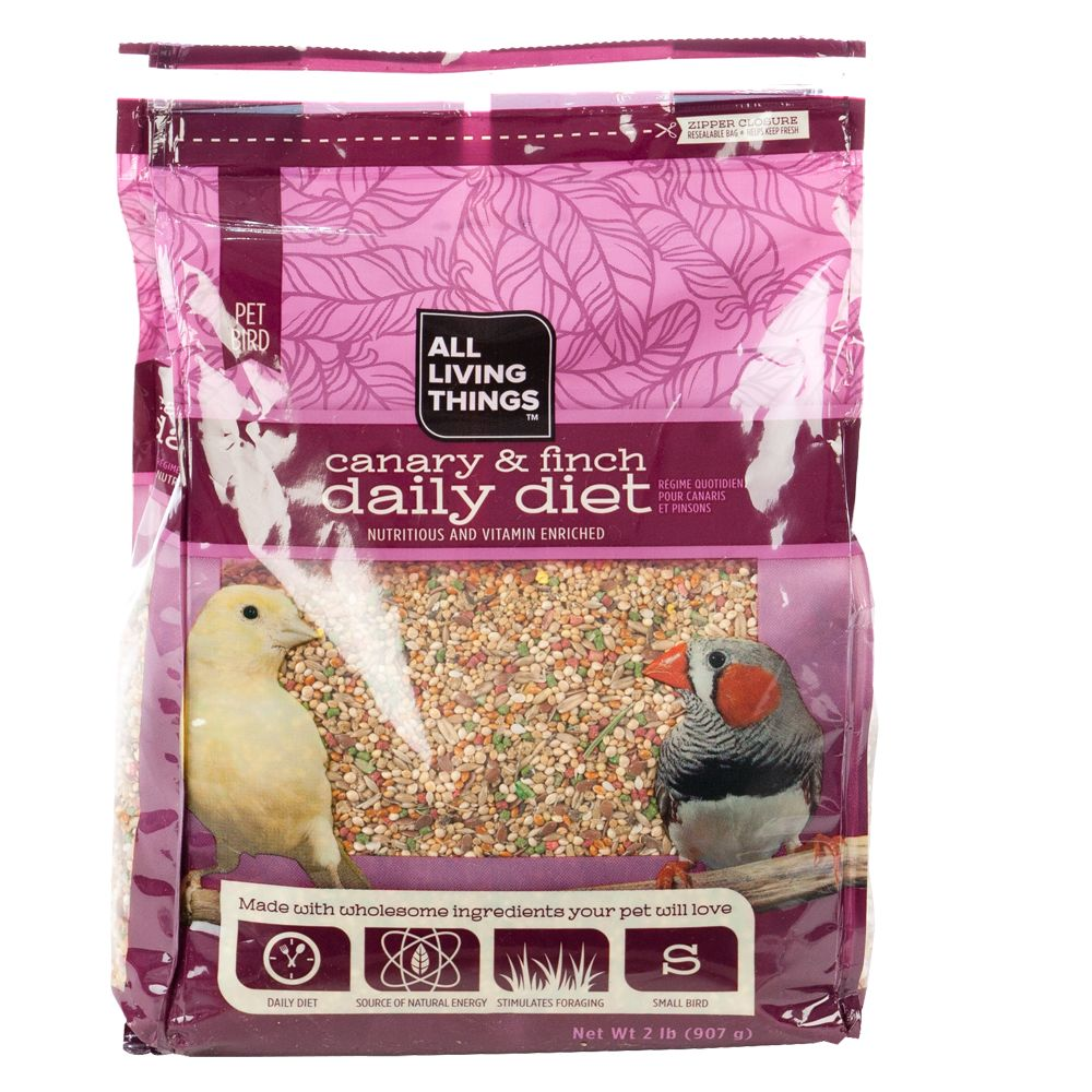 All Living Things® Canary and Finch Daily Diet 5219670