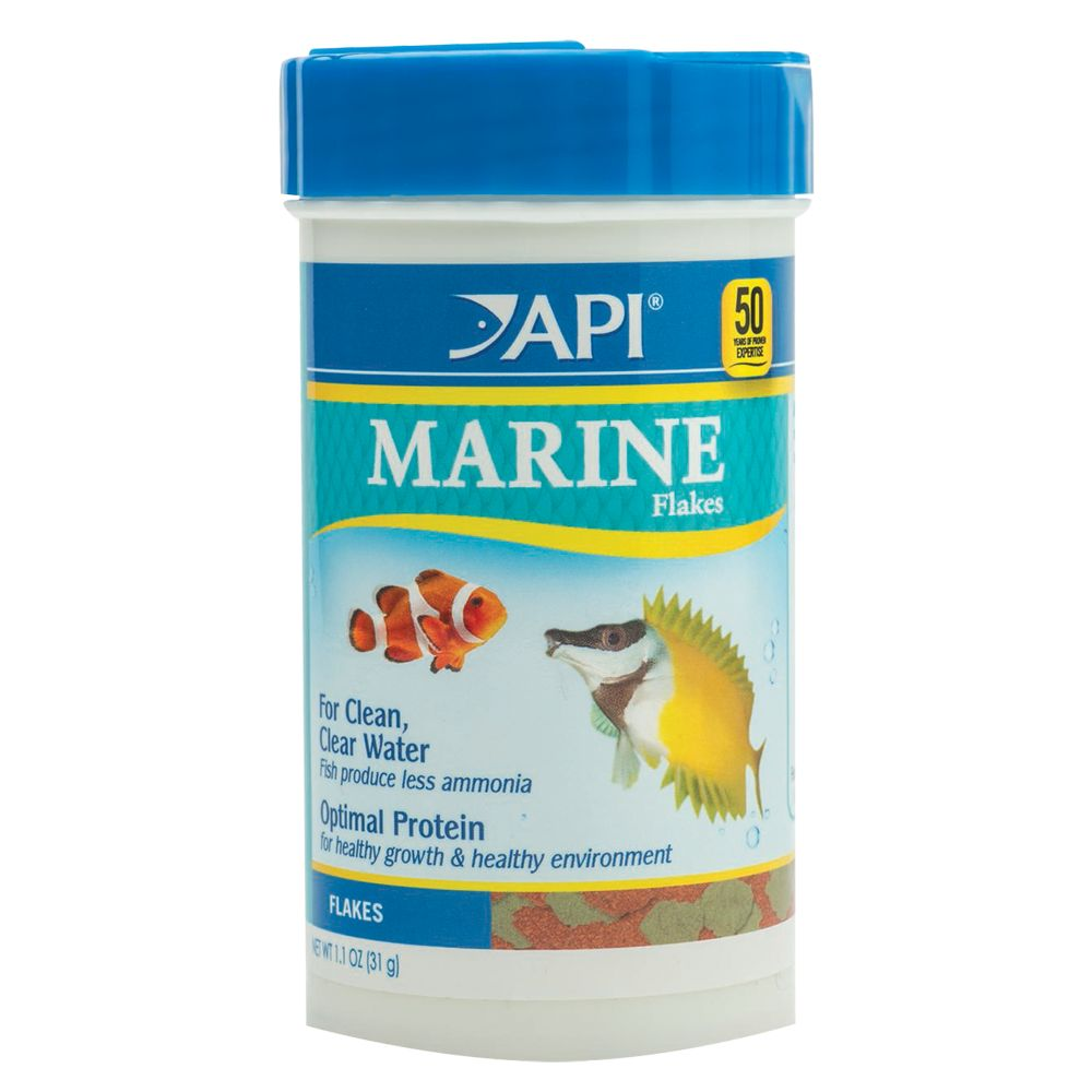 Api Marine Flake Fish Food Size 1.1 Oz