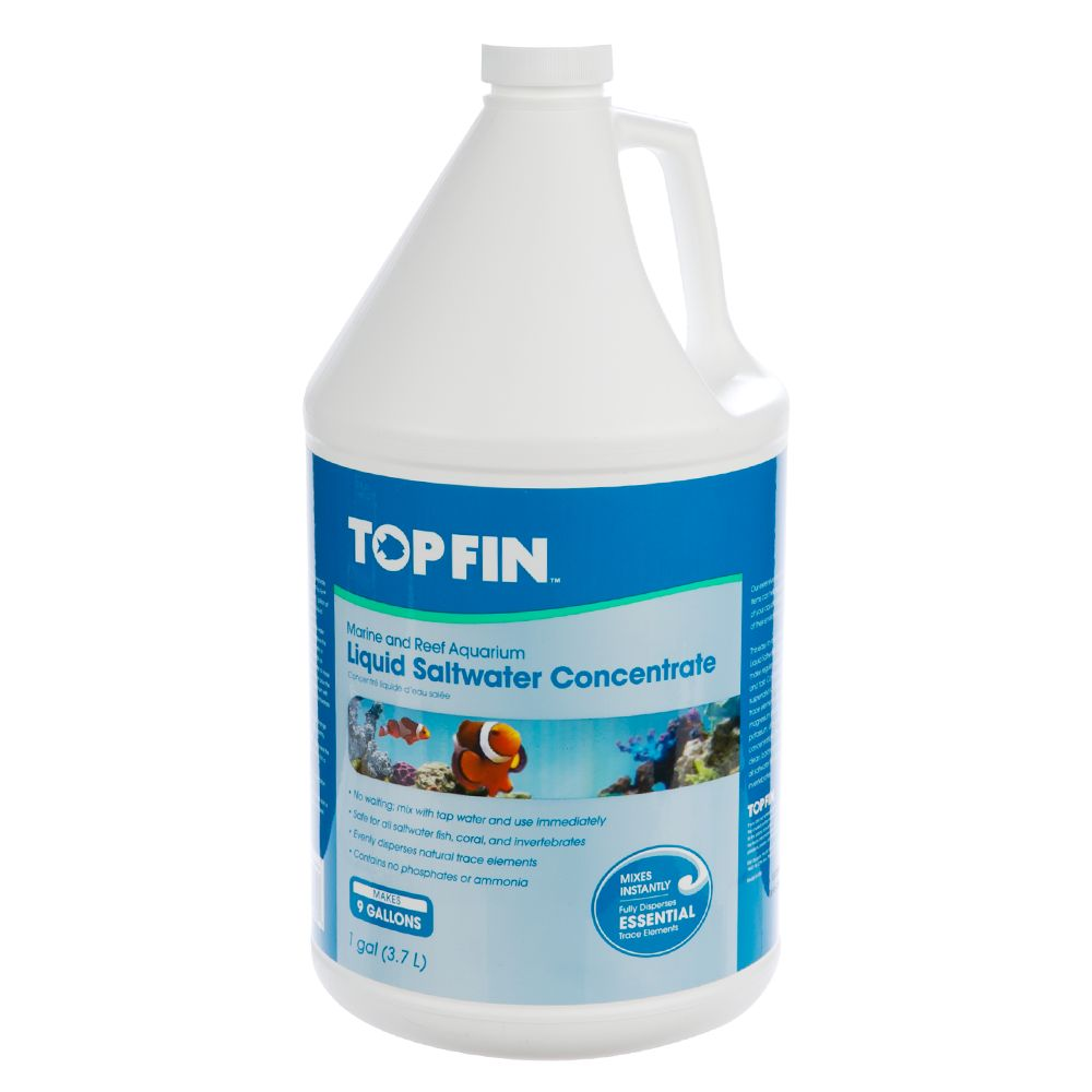Top Fin Liquid Saltwater Concentrate Size 1 Gal