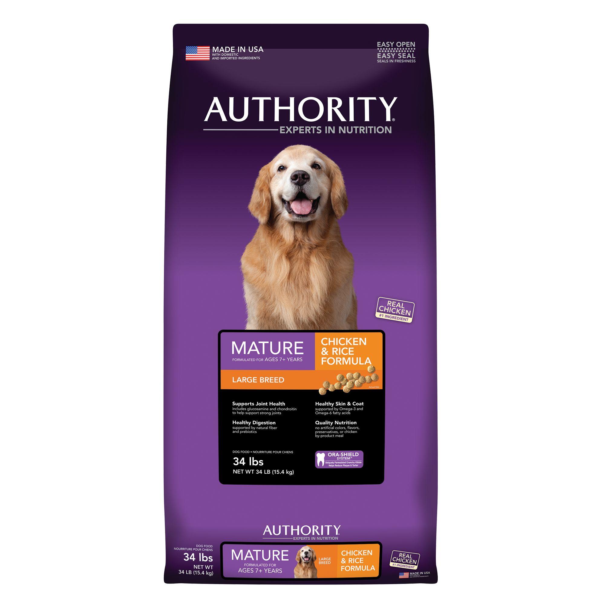 Authority Senior Dog Food