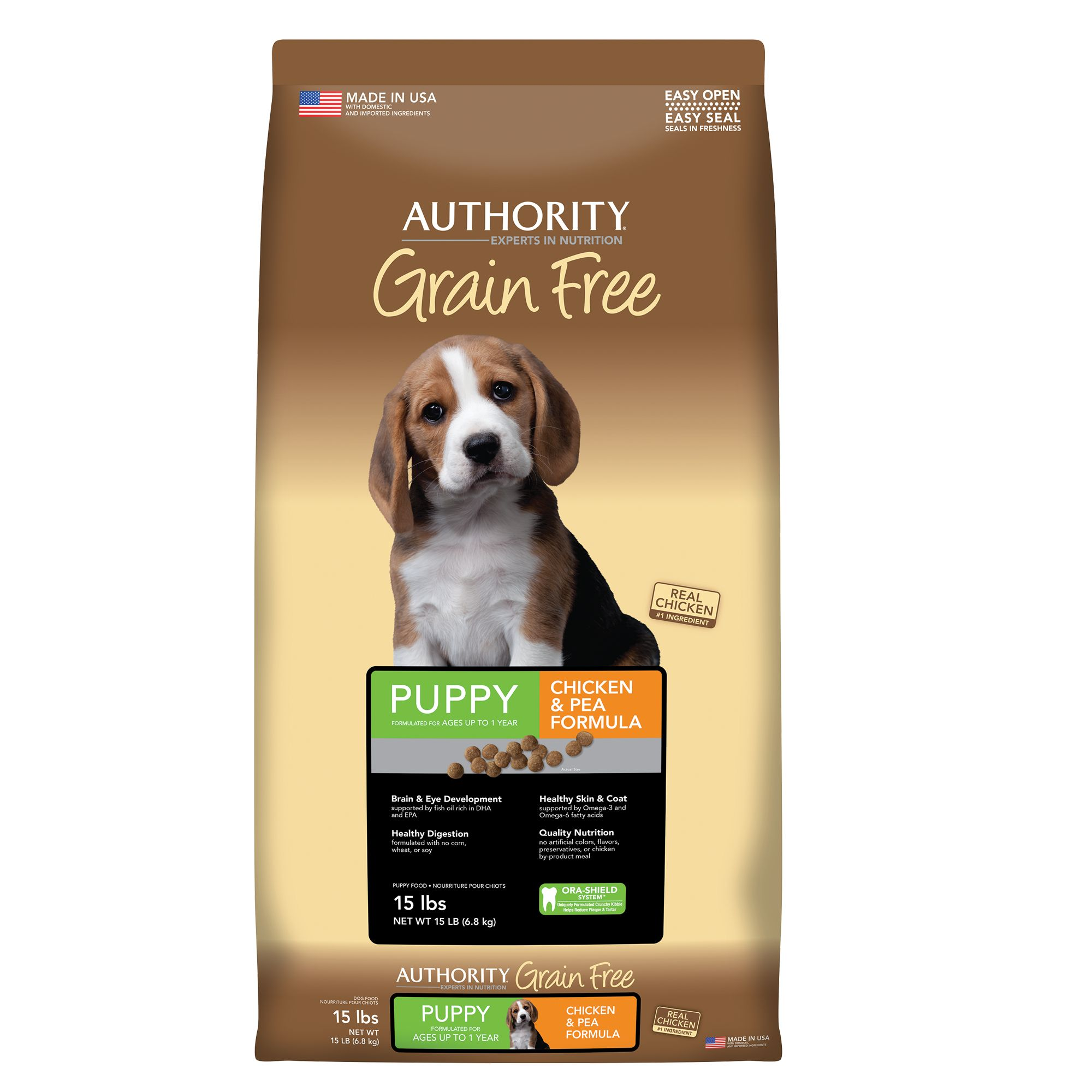 Authority Puppy Food size: 15 Lb 5221227