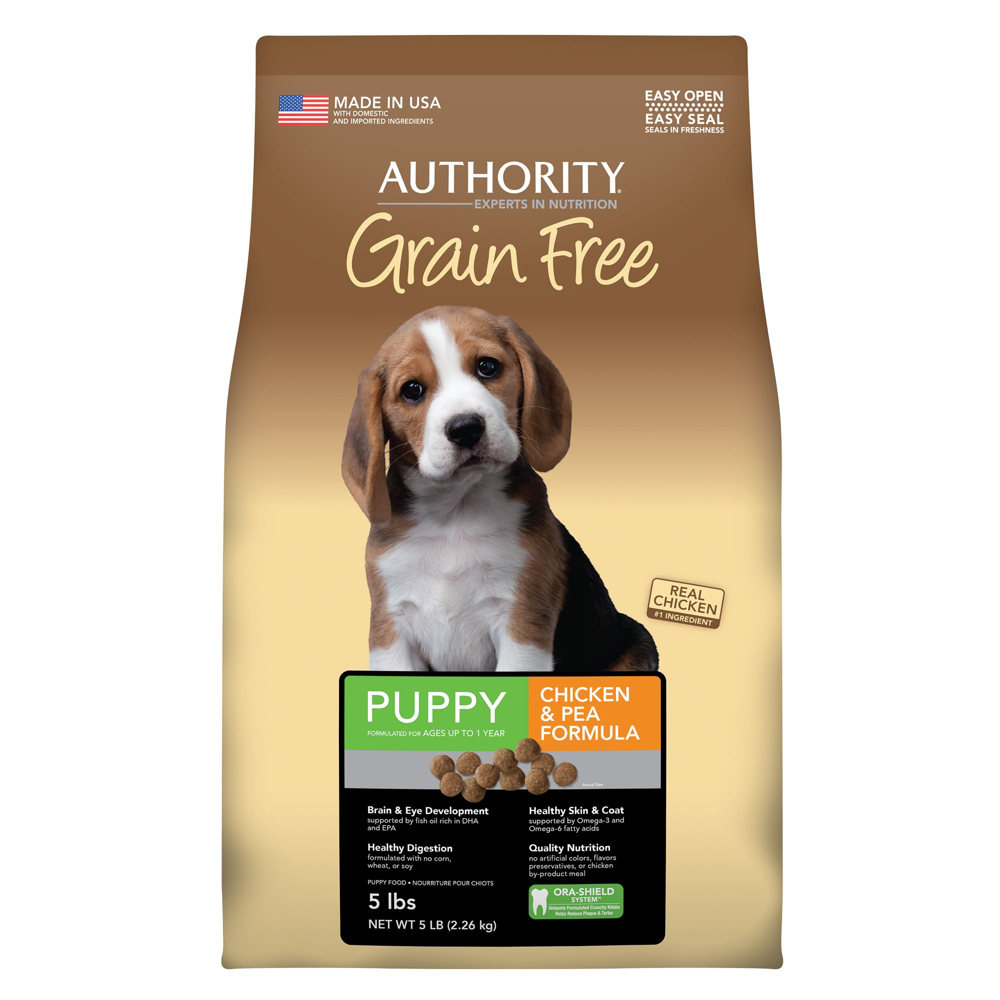 Authority Puppy Food size: 5 Lb 5221247