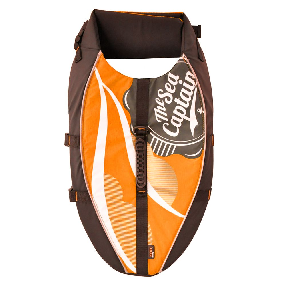 Wacky Paws Aquatic Life Vest Size Medium Orange