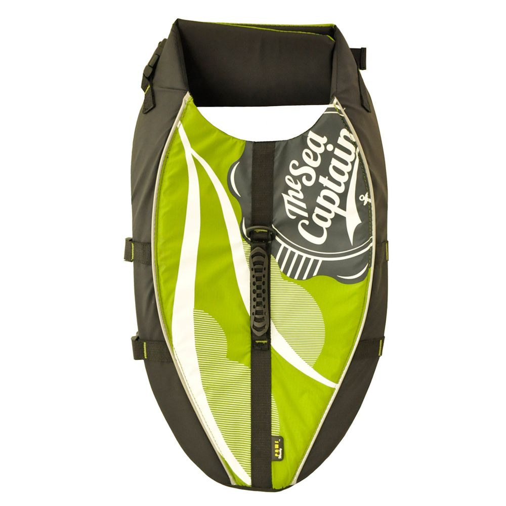 Wacky Paws Aquatic Life Vest Size Medium Green