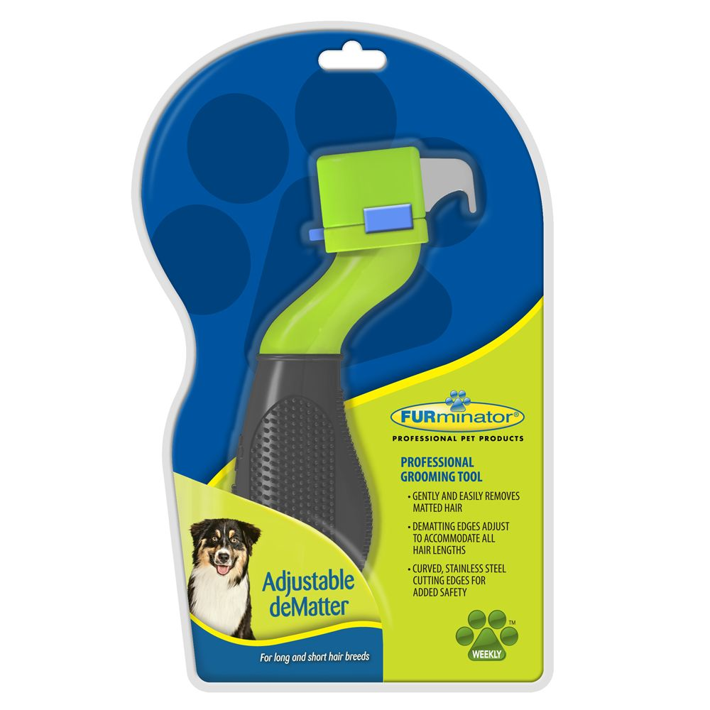 Furminator Adjustable Dematter Green
