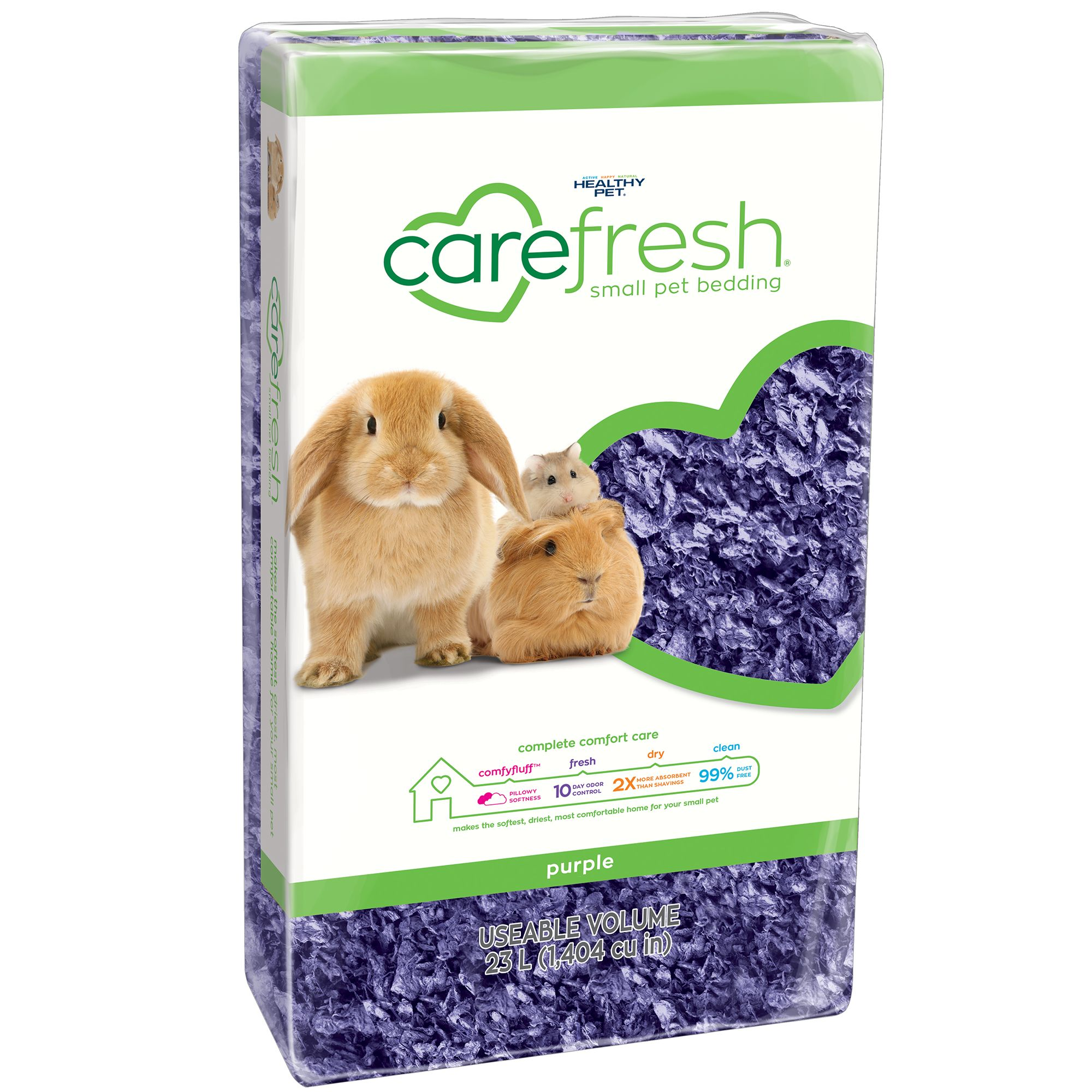 Carefresh Colorful Creations Small Pet Bedding Size 23 L Purple