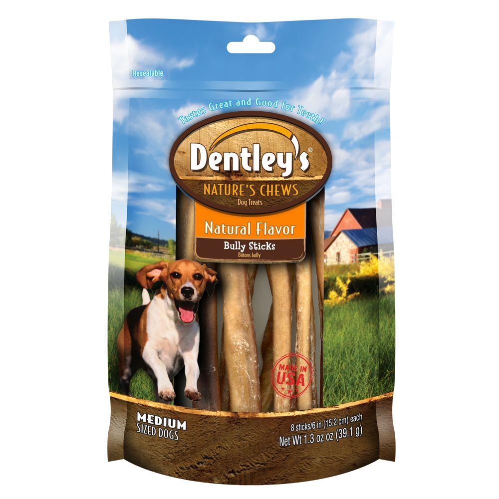 dentleysreg natures chews natural flavor medium breed bully stick dog treat s. Black Bedroom Furniture Sets. Home Design Ideas