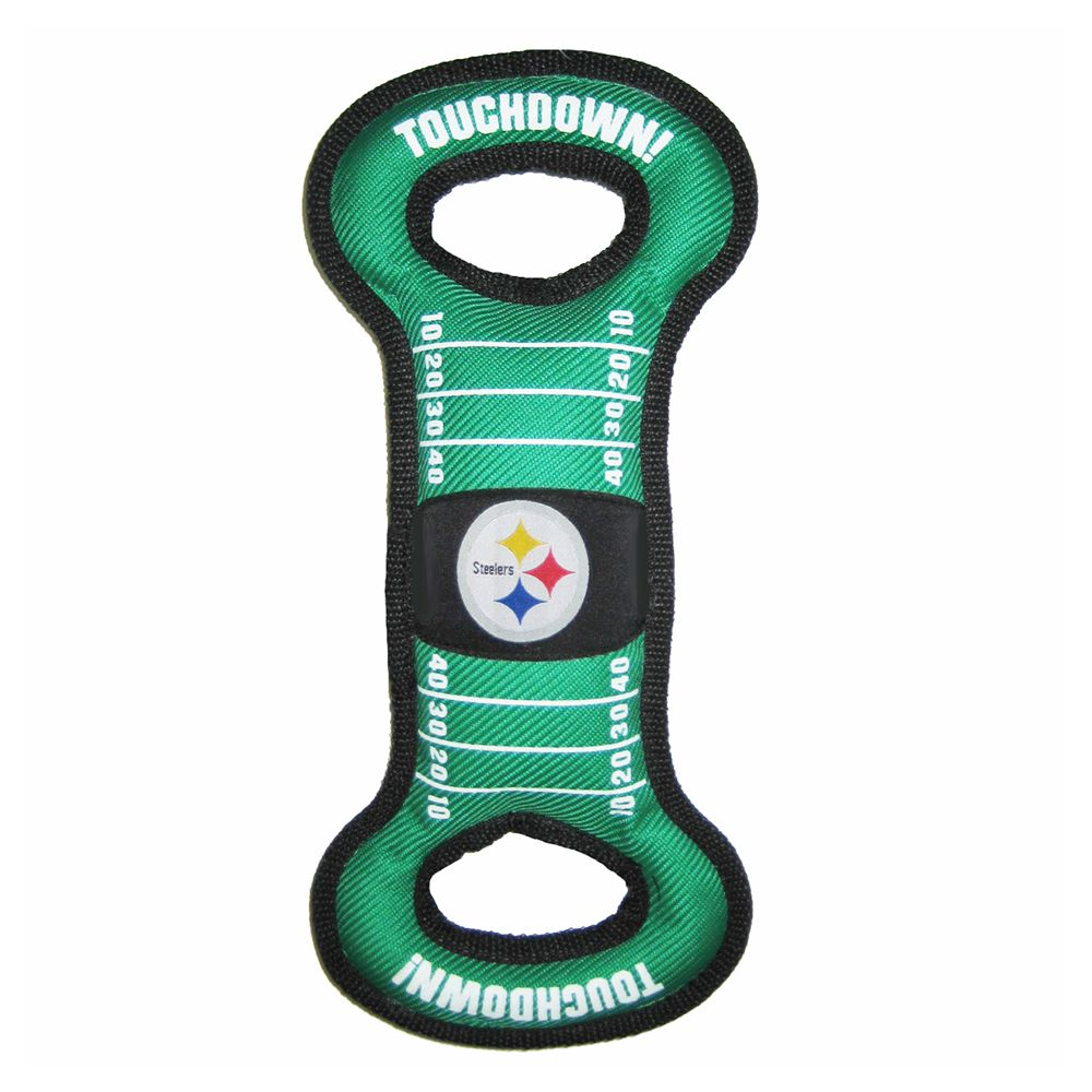 Pittsburgh Steelers NFL Field Dog Toy, Pets First 5225911