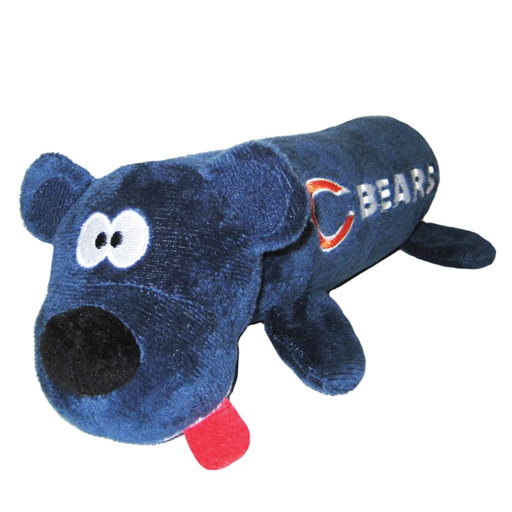 Chicago Bears NFL Tube Dog Toy, Pets First 5226156