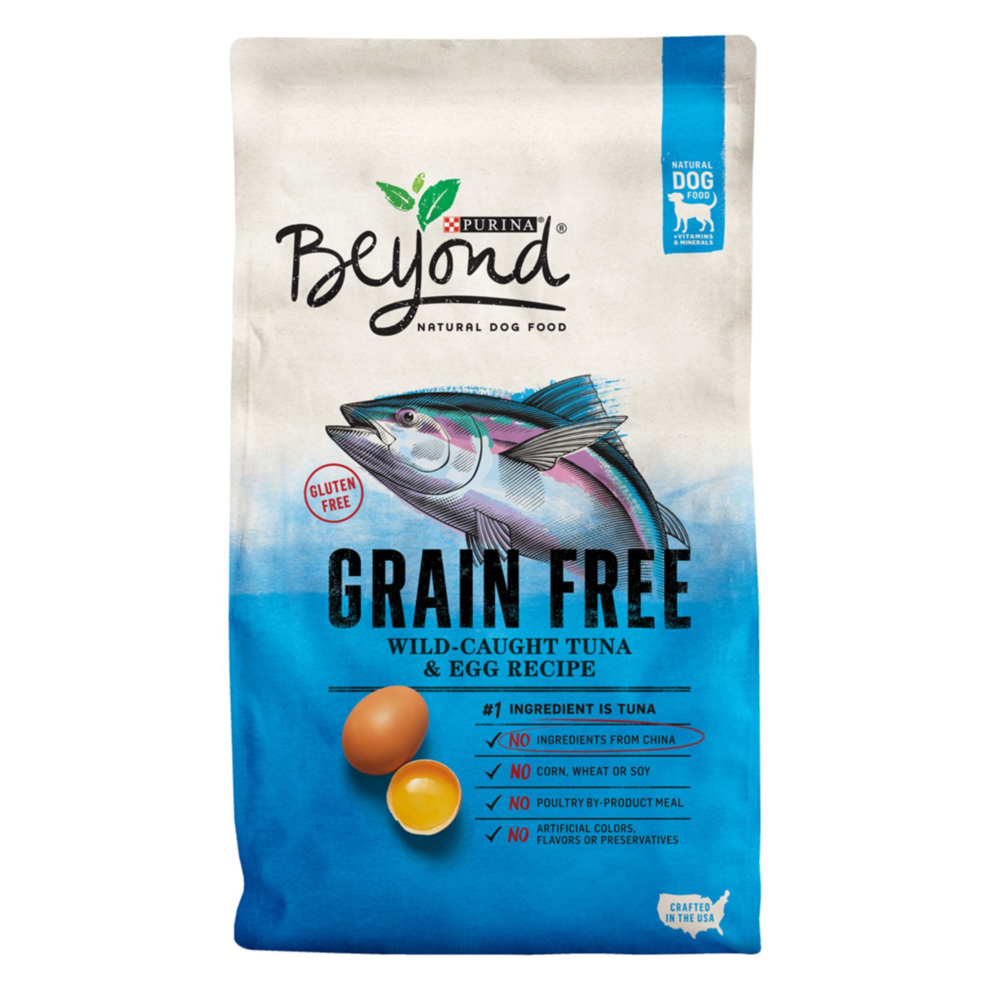 Purina® Beyond Dog Food - Natural, Grain Free, Gluten Free, Tuna and Egg size: 3 Lb 5226178