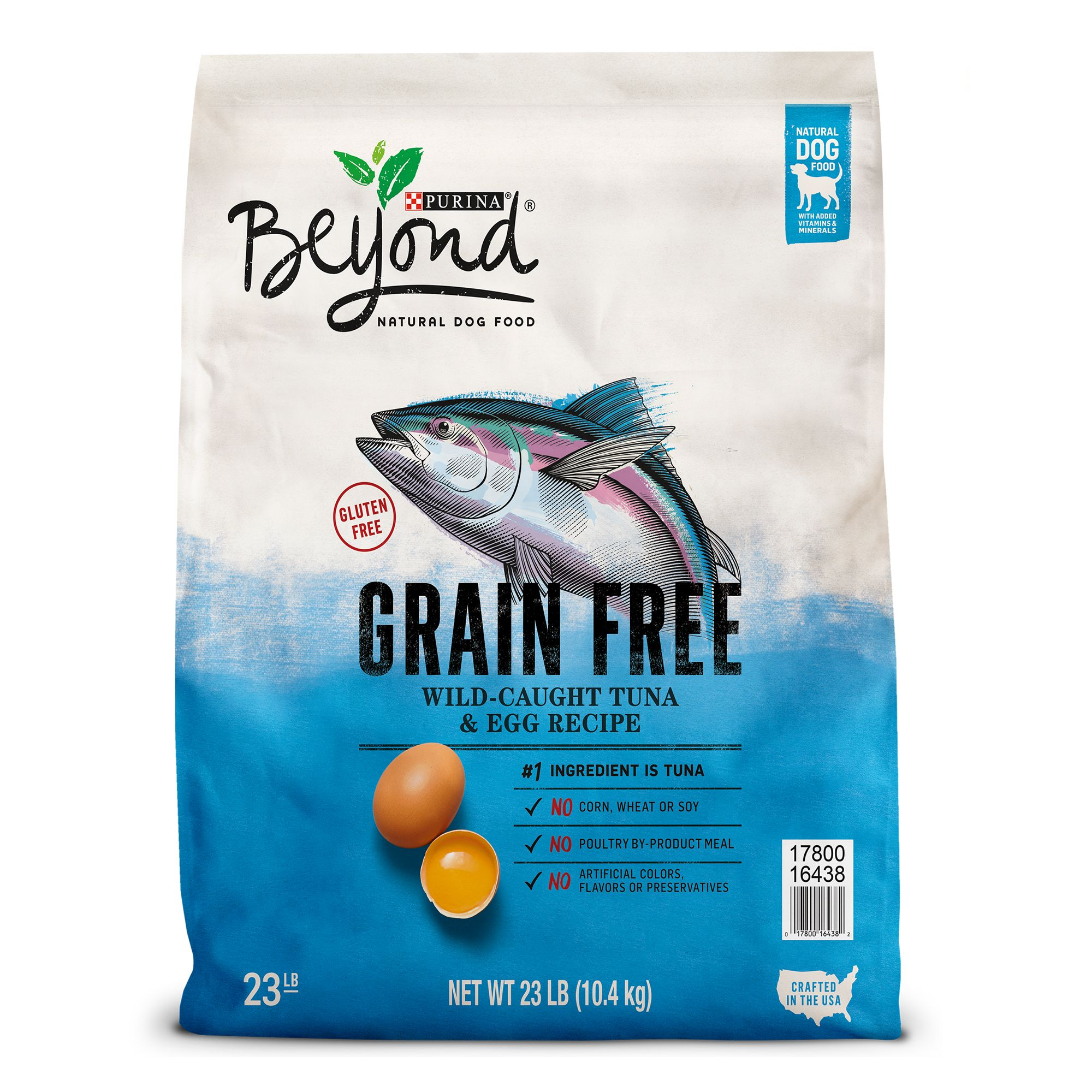 Purina® Beyond Dog Food - Natural, Grain Free, Gluten Free, Tuna and Egg size: 23 Lb 5226180
