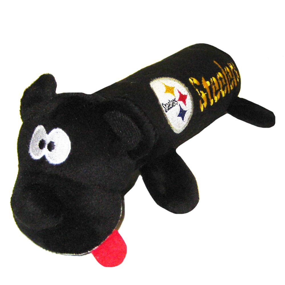 Pittsburgh Steelers NFL Tube Dog Toy, Pets First 5226210