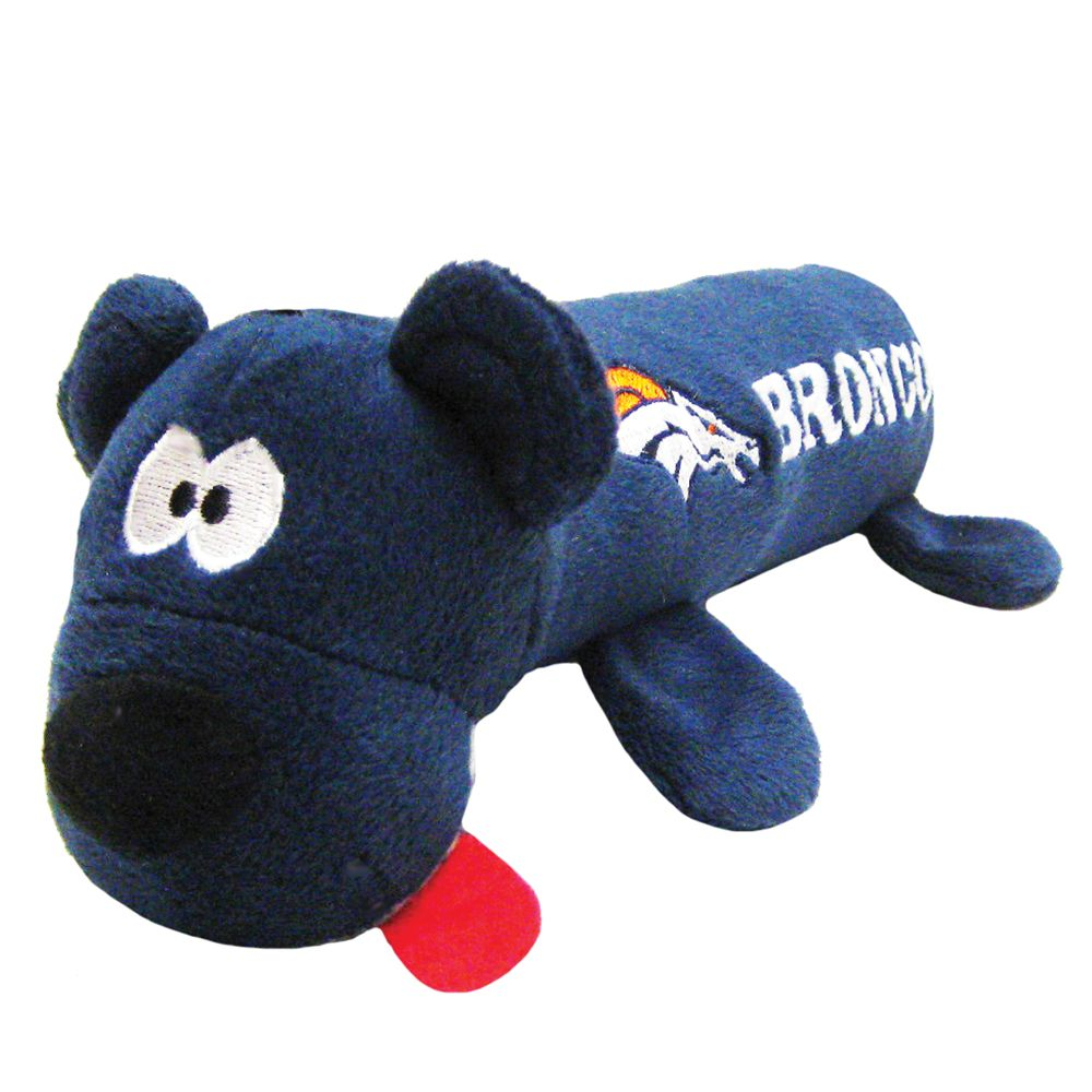 Denver Broncos NFL Tube Dog Toy 5226224