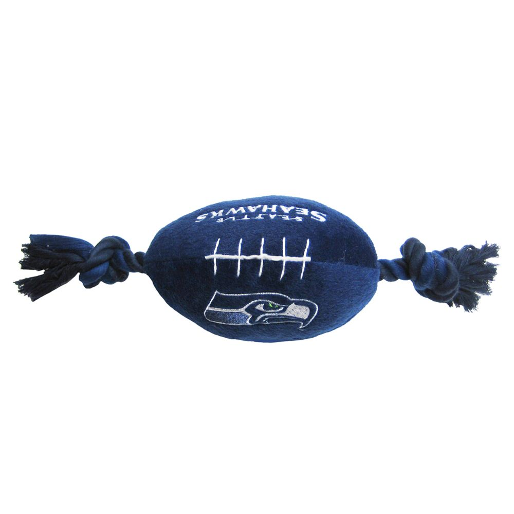 Seattle Seahawks NFL Football Dog Toy, Pets First 5226260