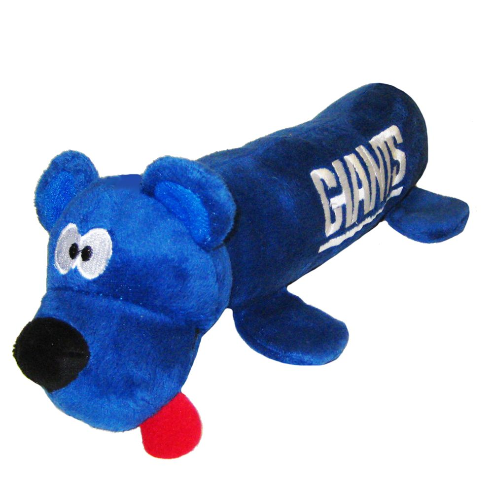 New York Giants NFL Tube Dog Toy 5226271