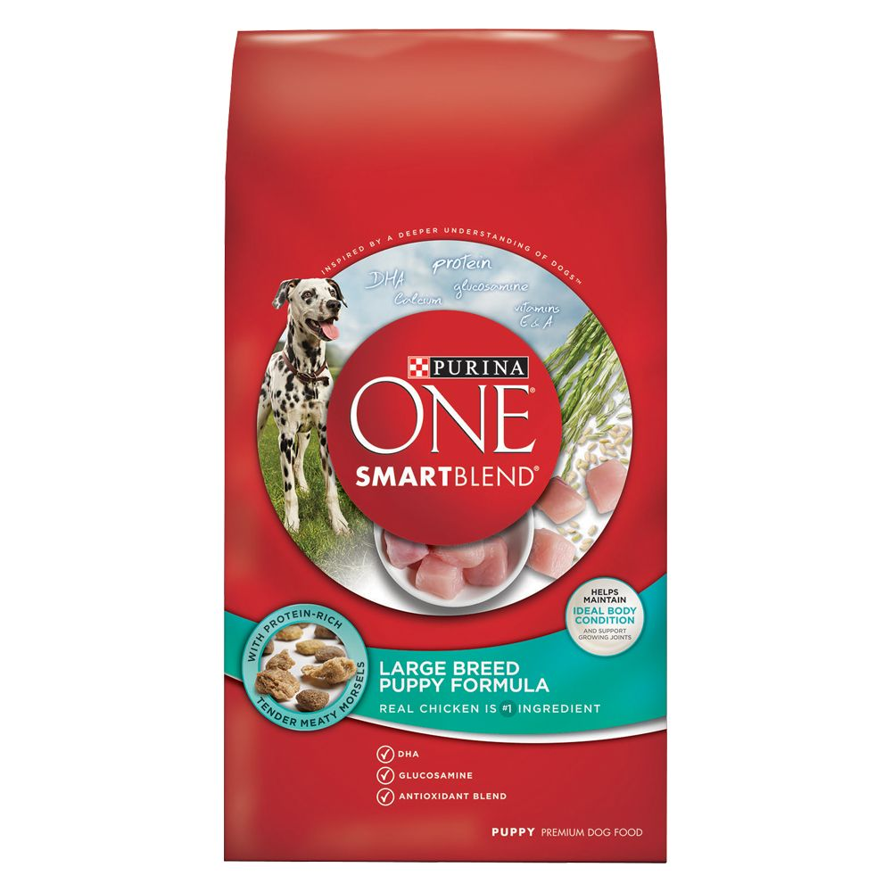 Purina One® Smartblend® Large Breed Puppy Food size: 16.5 Lb 5226292