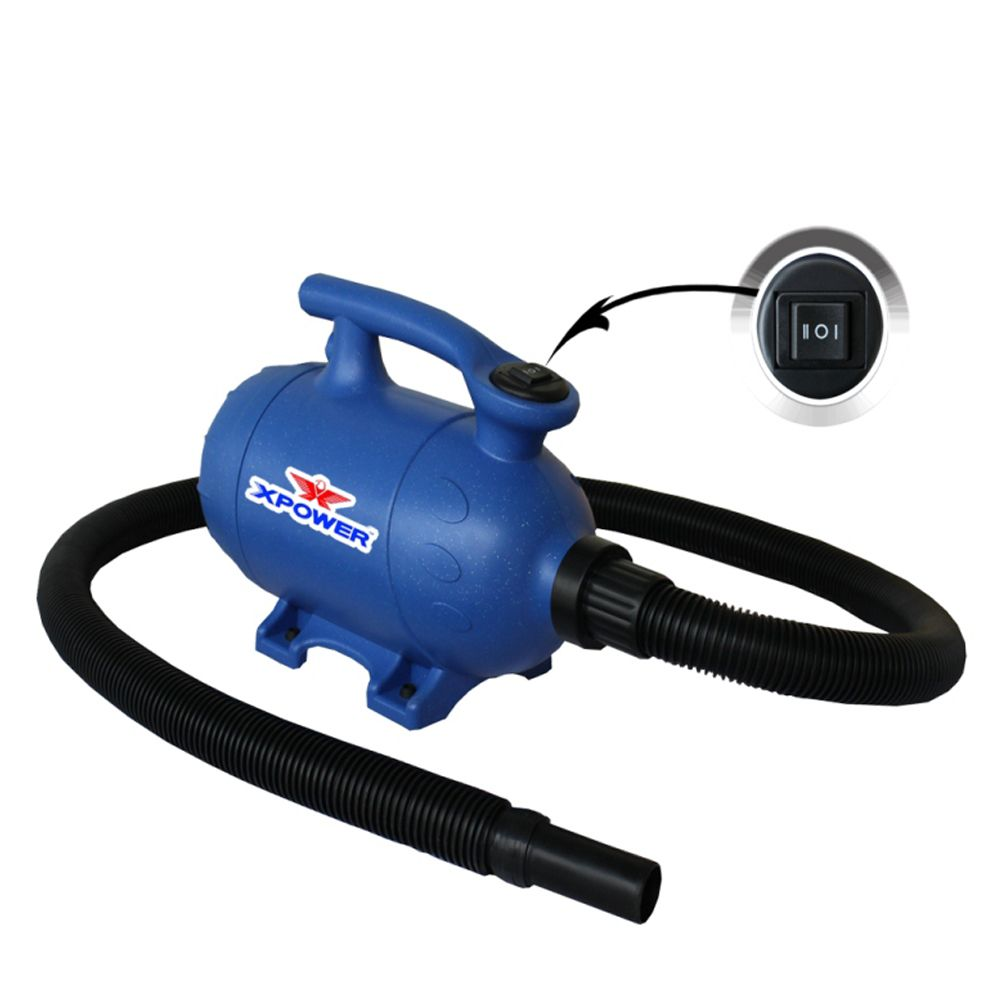 Xpower B 3 2 Speed 2 In 1 Pet Dryer Vacuum 2 Hp Blue