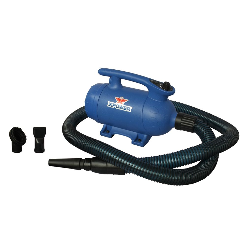 Xpower B 24 Variable Speed Pet Dryer With Heat 3 Hp Blue