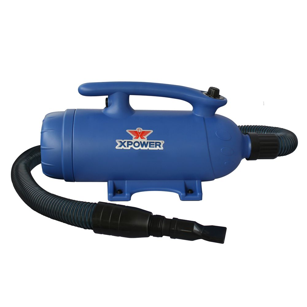 Xpower B 27 Variable Speed Dual Motor 6 Hp Blue