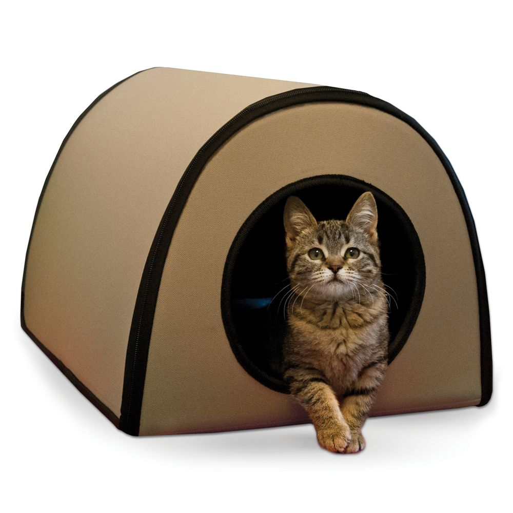 Kandh Mod Thermo Kitty Shelter Tan