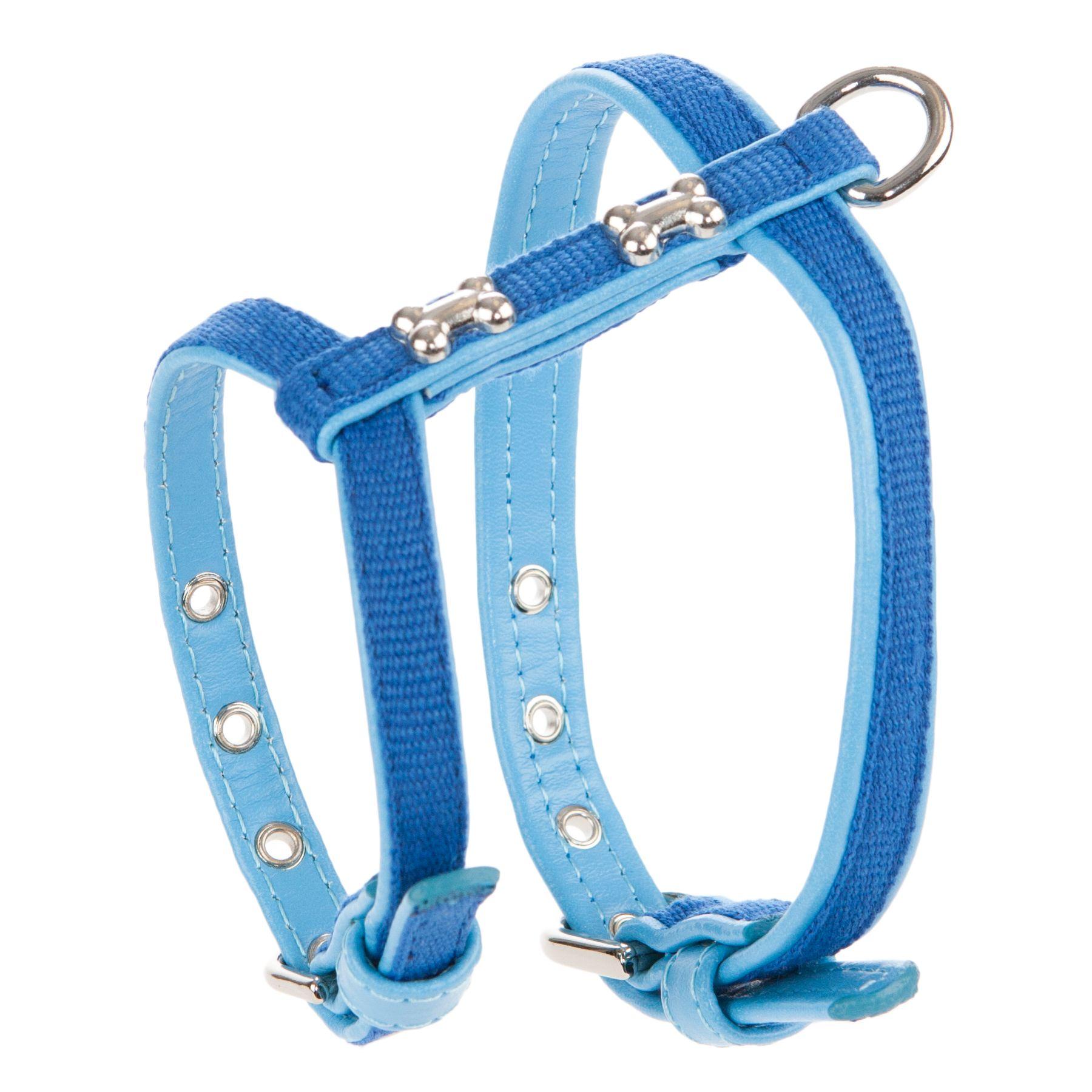 Top Paw® Bone Stud Dog Harness, Blue
