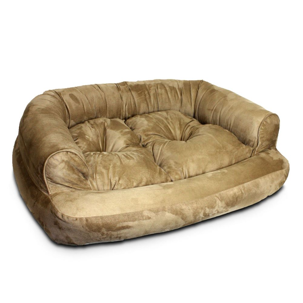 Snoozer Overstuffed Sofa Pet Bed Size: 40