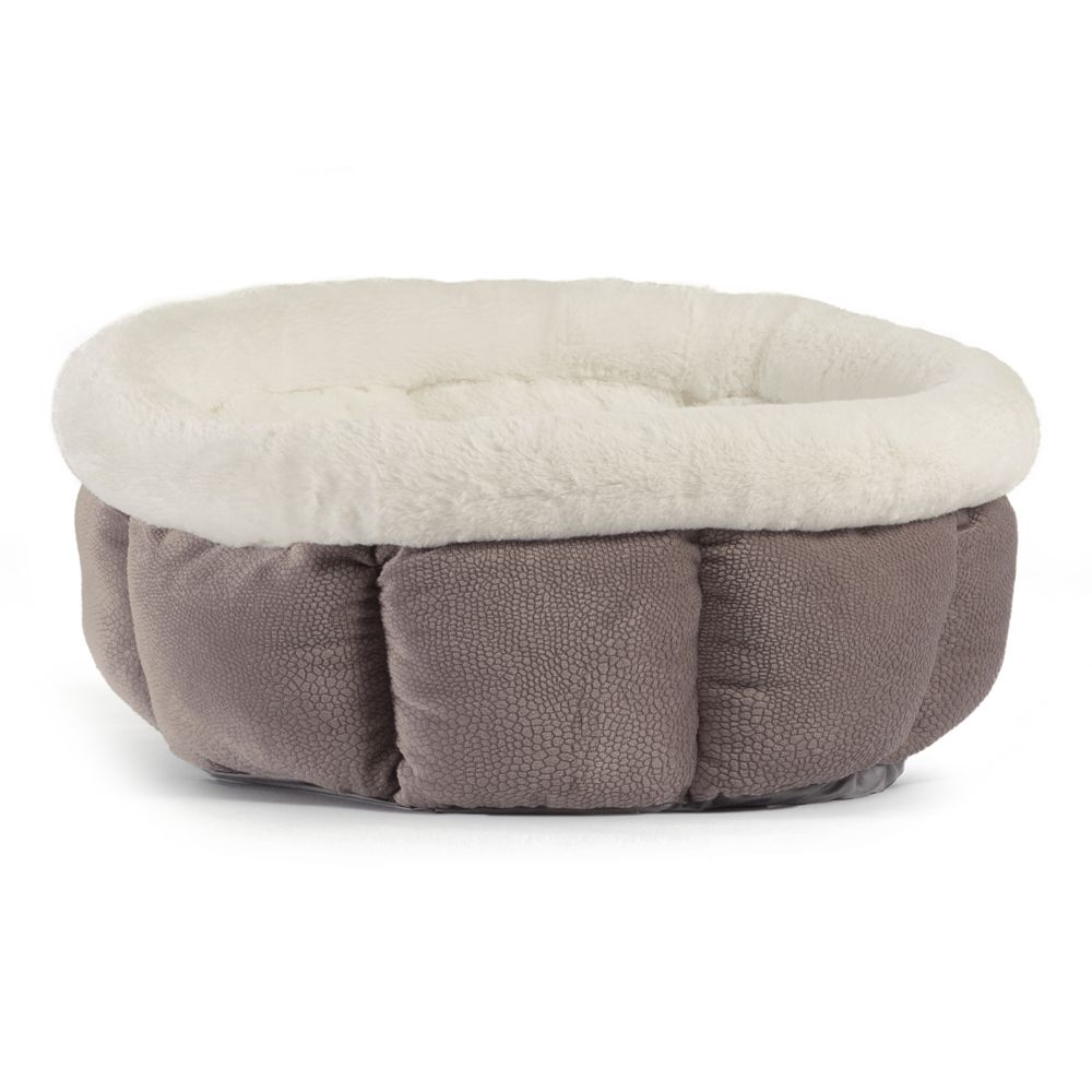 Best Friends By Sheri Cuddle Cup Pet Bed Gray