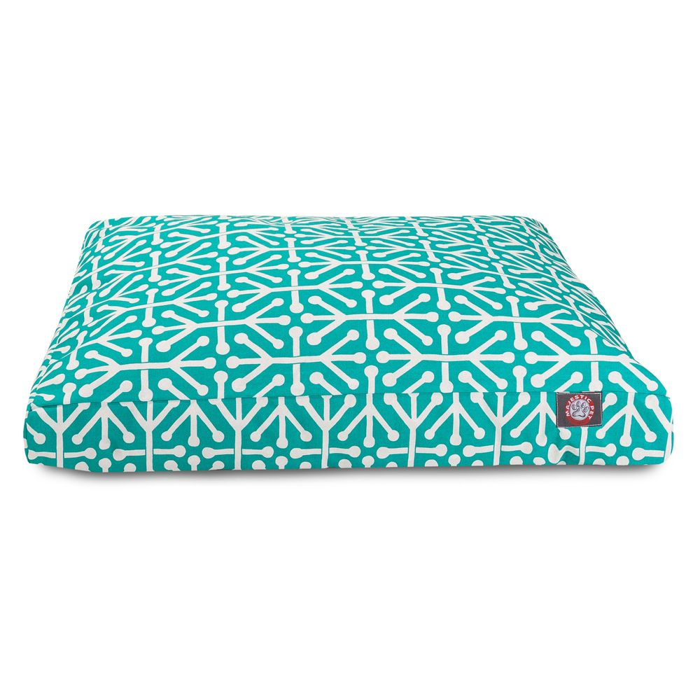 "Majestic Pet Aruba Rectangle Pet Bed size: 44""L x 36""W x 5""H"