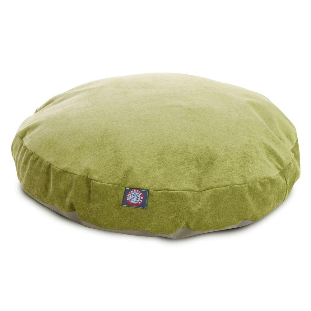 """Majestic Pet Villa Collection Round Pet Bed size: 30""""L x 30"""""""