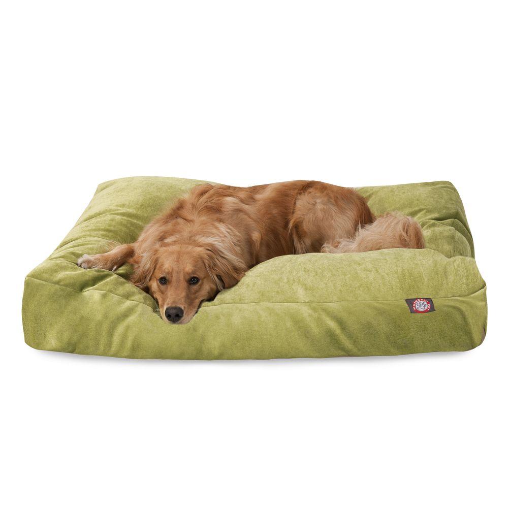 """Majestic Pet Villa Collection Rectangle Pet Bed size: 50""""L x"""