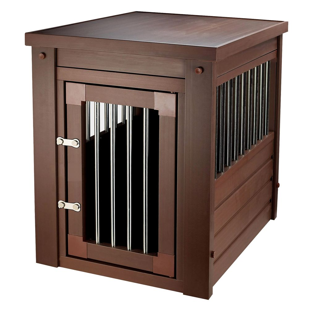 New Age Habitat N Home Innplace Ii Dog Crate Size 42.5l X 27.6w X 30.9h Russet