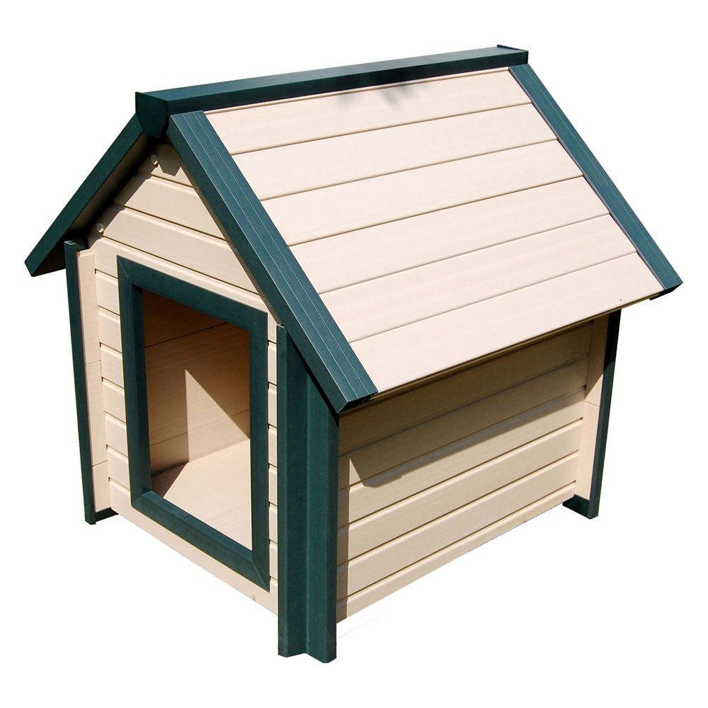 New Age Ecoflex Bunkhouse Dog House Size 36.1l X 31.9w X 36.3h