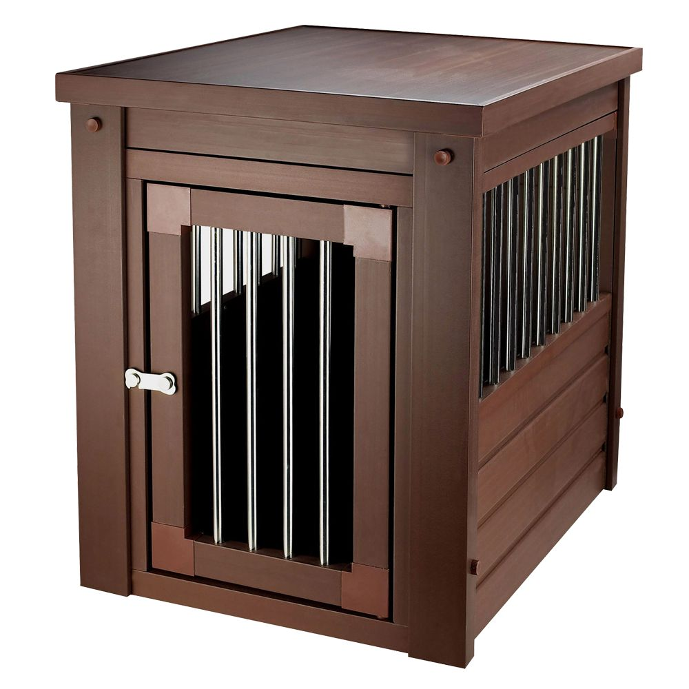 New Age Habitat N Home Innplace Ii Dog Crate Size 23.8l X 18.1w X 22h Russet
