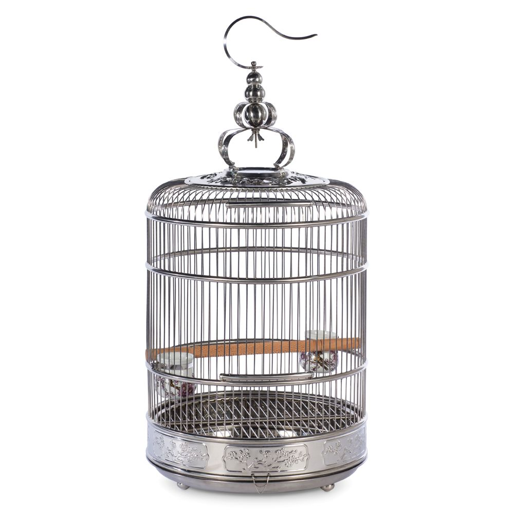 Prevue Pet Lotus Stainless Steel Bird Imprison size: Small, Prevue Pet Products
