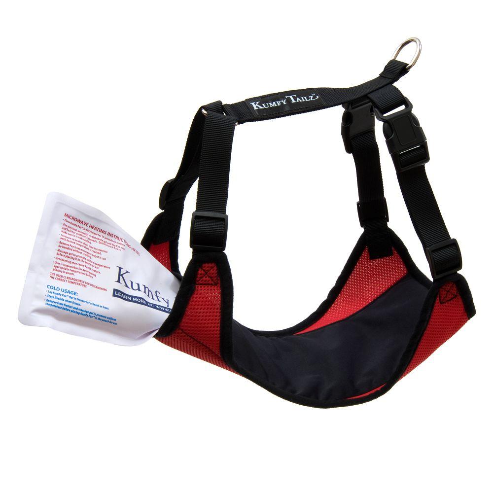 Kumfy Tailz Warming/cooling Dog Harness Size 2x Small Red
