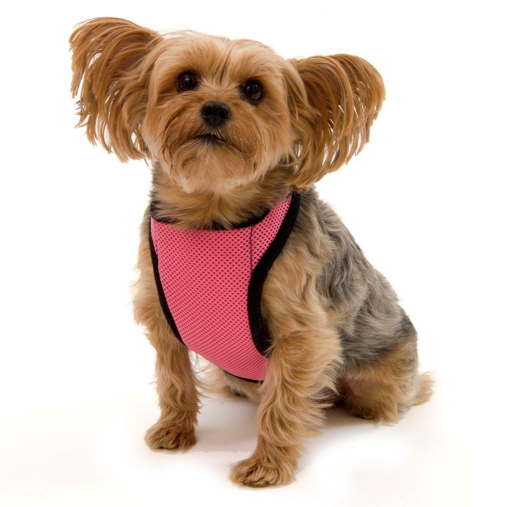 Kumfy Tailz Warming/cooling Dog Harness Size 2x Small Pink