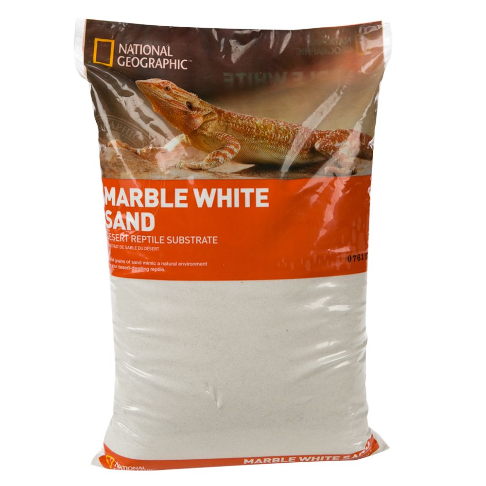 National Geographic Marble Reptile Sand Size 20 Lb