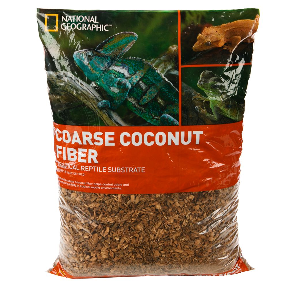 National Geographic Coarse Reptile Coconut Fiber Size 24 Qt