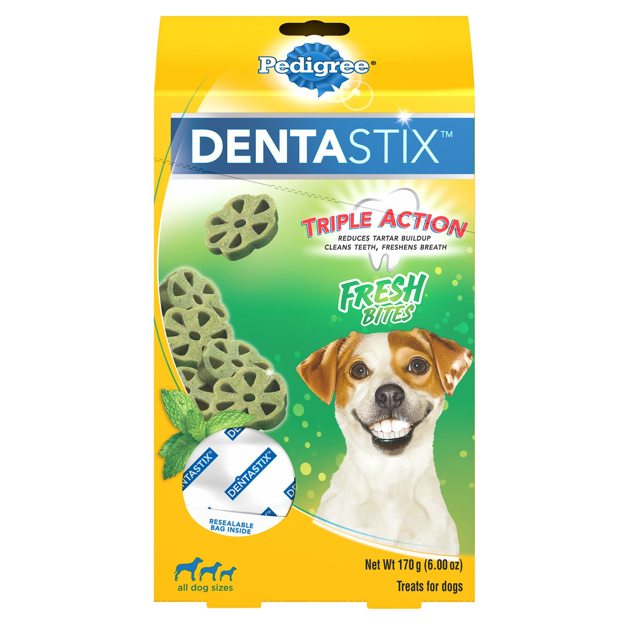Pedigree® Dentastix® Fresh Bites Dental Dog Treat si
