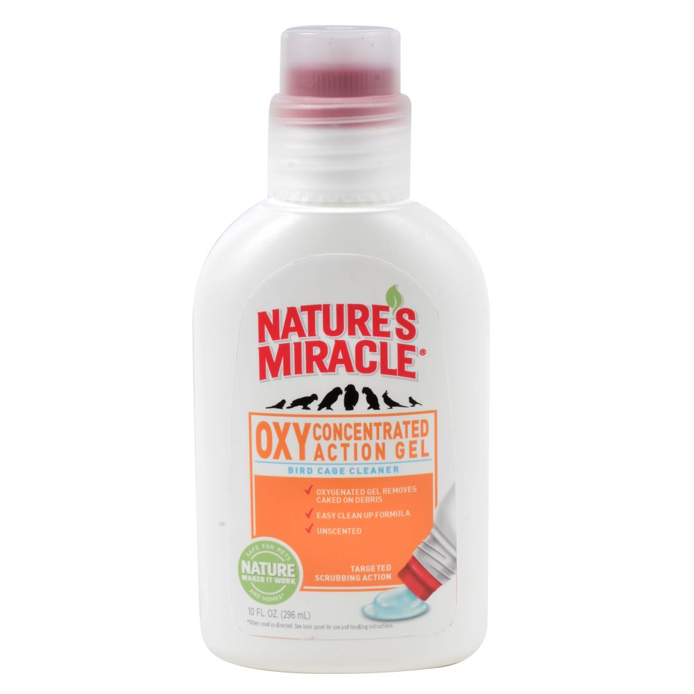 Natures Miracle Bird Cage Cleaning Gel