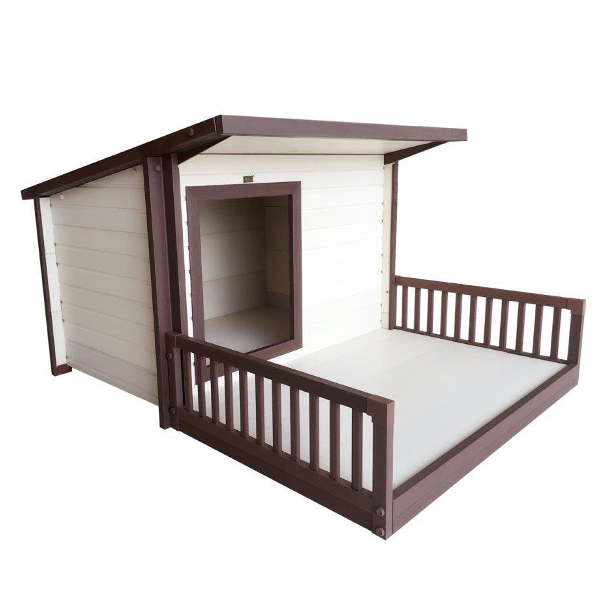 New Age Ecoflex Santa Fe Chalet Dog House Size 54.3l X 42.1w X 30.3h