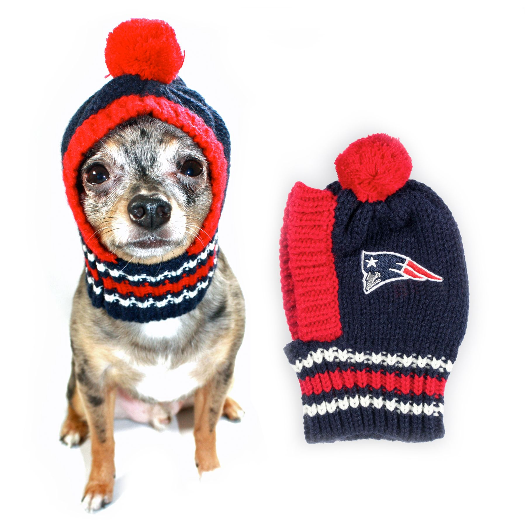 New England Patriots NFL Knit Hat size: Large