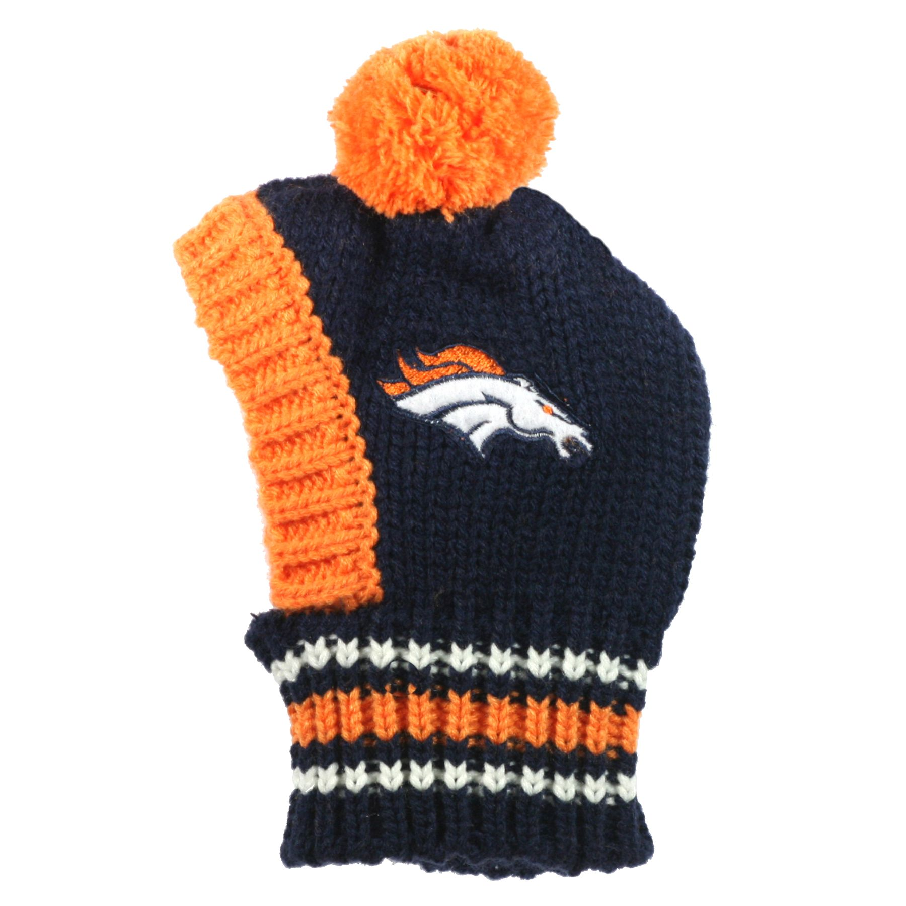 Denver Broncos NFL Knit Hat size: Large, Hip Doggie 5230393